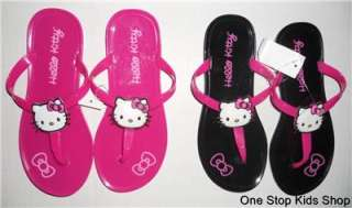 HELLO KITTY Girls 11 12 13 1 2 3 Shoes FLIP FLOPS Sandals