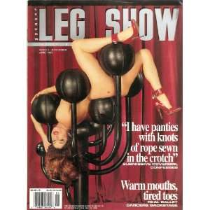 LEG SHOW MAGAZINE JUNE 1995: Books
