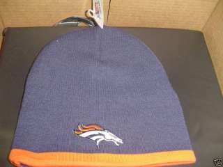 DENVER BRONCOS NFL WINTER KNIT HAT BEANIE NEW CAP WARM