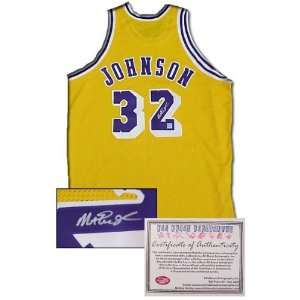 Magic Johnson Autographed/Hand Signed Authentic Style Los Angeles