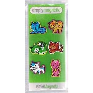 Kittie Cat Magnets (Set of 6)