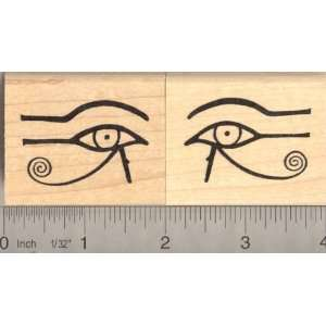 Eye of Horus Egyptian Rubber Stamp Set   this is two separate stamps