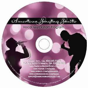 Voice Lesson Cd Vocal QuickStart Program American