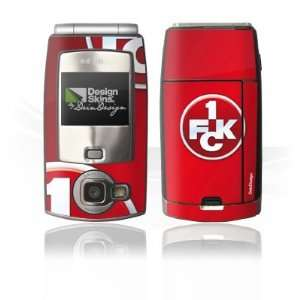 Design Skins for Nokia N71   1. FCK Logo Design Folie