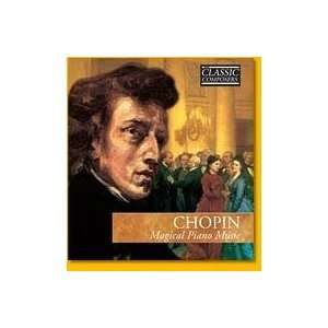 Classic Composers Chopin Magical Piano Music Hardcover and
