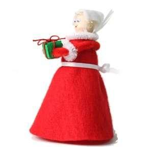 Mrs. Santa Claus clothespin Craft Kit Toys & Games