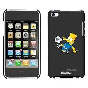 Soccer Bart Simpson on iPod Touch 4 Gumdrop Air Shell Case