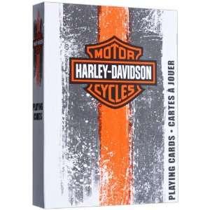 Harley Davidson Bicycle Poker Playing Cards   1 Deck