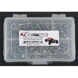 HPI027 Stainless Steel Screw Kit Hellfire RTR Toys & Games