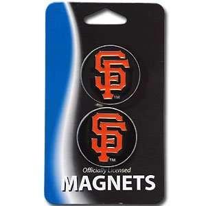 San Francisco Giants 2 Logo Magnet Set   MLB Baseball Fan