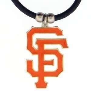 San Francisco Giants Logo Pendant Necklace   MLB Baseball Fan Shop
