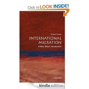 International Migration : A Very Short Introduction (Very Short