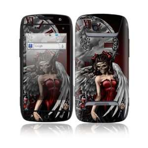 Samsung Sidekick 4G Decal Skin Sticker   Gothic Angel