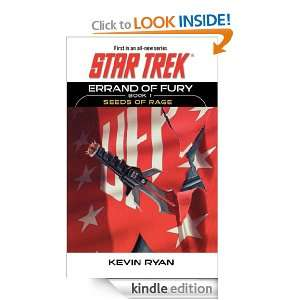 Star Trek The Original Series Errand of Fury Book #1 Seeds of Rage