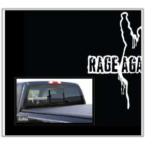 Rage Against e Machine Large Vinyl Decal Everying