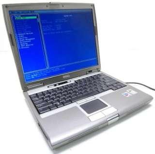 3x Dell Latitude D610 14 Laptops 1.86GHz Pentium M  512MB RAM