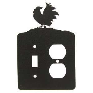 ROOSTER SINGLE LIGHT SWITCH & Outlet Plate Cover