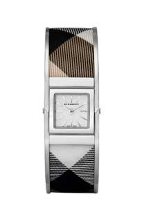 Burberry Ladies Check Bangle Watch