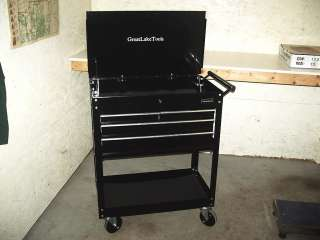 Great Lake Tools Heavy Duty Service Parts Cart Rolling Tool Box