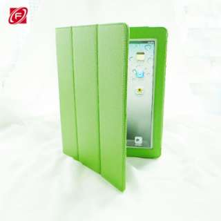 The New iPad 3rd Generation Smart Cover PU Leather Case Stand Multi