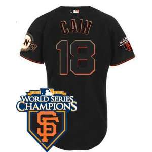 Wholesale New San Francisco Giants #18 Matt Cain Black