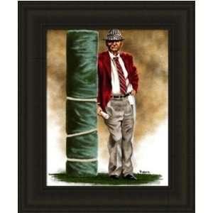 Alabama Crimson Tide Framed Paul Bear Bryant Alabama