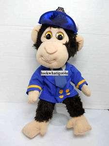 Michael Jackson Bubbles the Monkey Plush doll 13 1987
