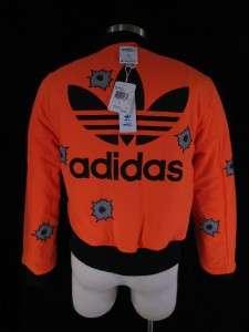 Adidas Jeremy Scott ObyO Reversible Bullet Bomber XL Jacket RARE