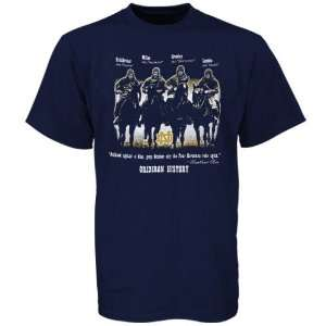 Majestic Notre Dame Fighting Irish Navy Blue Four Horsemen