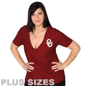 Oklahoma Sooners Womens Crimson Shootout Top Sports