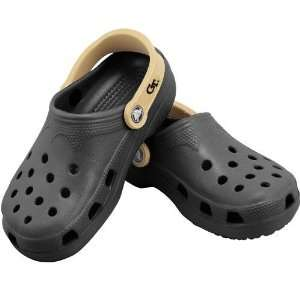 Tech Yellow Jackets Black Team Croc Slip on Shoes