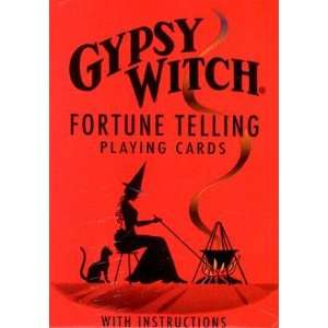 Gypsy Witch Fortune Telling Cards [TAROT DECK GYPSY WITCH FOR]: Books
