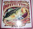 Dixie Mouth From Dixie Outfitter 14 X 14 Tin Sign BIG Hitter Bass