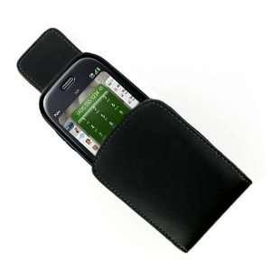 Premium Luxury Black Leather case cover for new Sprint