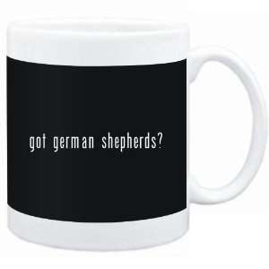 Mug Black  Got German Shepherds?  Dogs  Sports