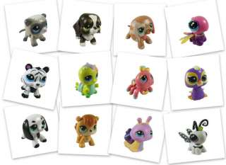 30pcs Littlest Pet Shop Lot LPS Girl Animasl Loose Figures Child