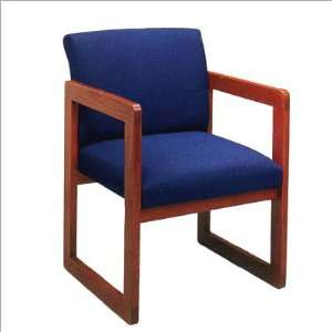 Lesro Classic Series Full Back Sled Base Guest Chair