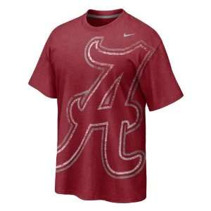 Nike Youth University of Alabama Big Time T shirt Sports & Outdoors