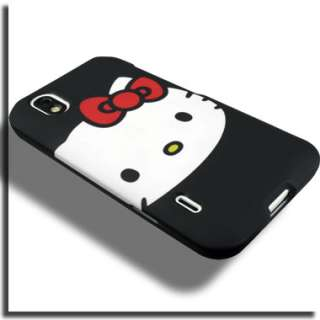 Case+Screen Protector for LG Marquee Optimus Black A Hello Kitty Cover