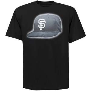 San Francisco Giants Bling Cap T Shirt (Black)