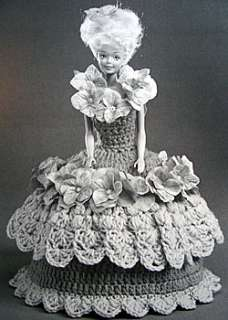 Crochet Fashion Doll TOILET TISSUE COVERS Project Book