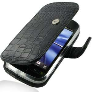 Crocodile Pattern Leather Case for HTC MyTouch 4G Slide Electronics