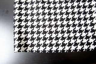 MICHAEL KORS Black+White HOUNDSTOOTH Classic Mini Pencil Short Skirt 0