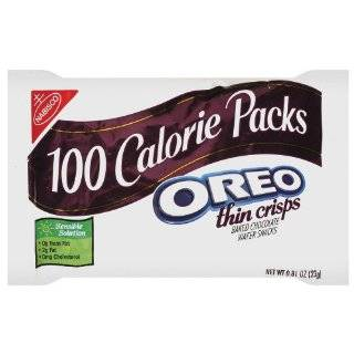 100 Calorie Packs Oreo Thin Crisps, 0.81 Ounce Packs (Pack of 72)