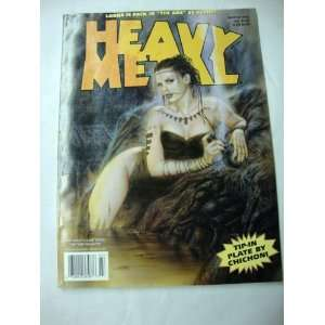 Heavy Metal Magazine March 2002 Books