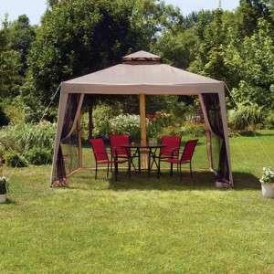 Hampton Portable Patio Garden Outdoor Yard Pool Gazebo Canopy