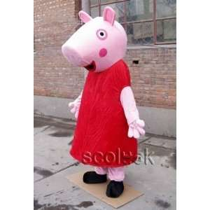 halloween peppa pig cosplay cartoon costume for occasion: Toys & Games