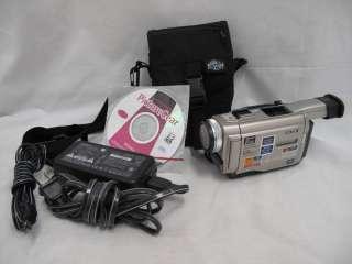 Sony Digital Handycam DCR TRV8 Precision LCD Monitor Carl Zeiss Vario