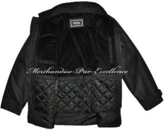 New MICHAEL KORS Mens WINTER Car Coat removable Quilted Lining Black