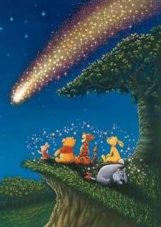 Japan Jigsaw Puzzle Tenyo Disney Winnie Pooh Meteor 858